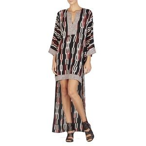 NWT BCBGMaxazria Norina Hi-Lo Kimono-Sleeve Dress